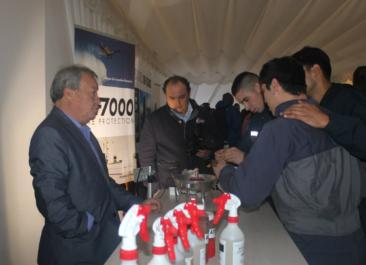 """AF7000 participa en Seminario """"Gestión de riesgo de desastre"""" profundizó sobre la cultura preventiva"""